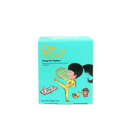 Or Tea? Organic Kung Flu Fighter - 10-Sachet Box (Pillow)