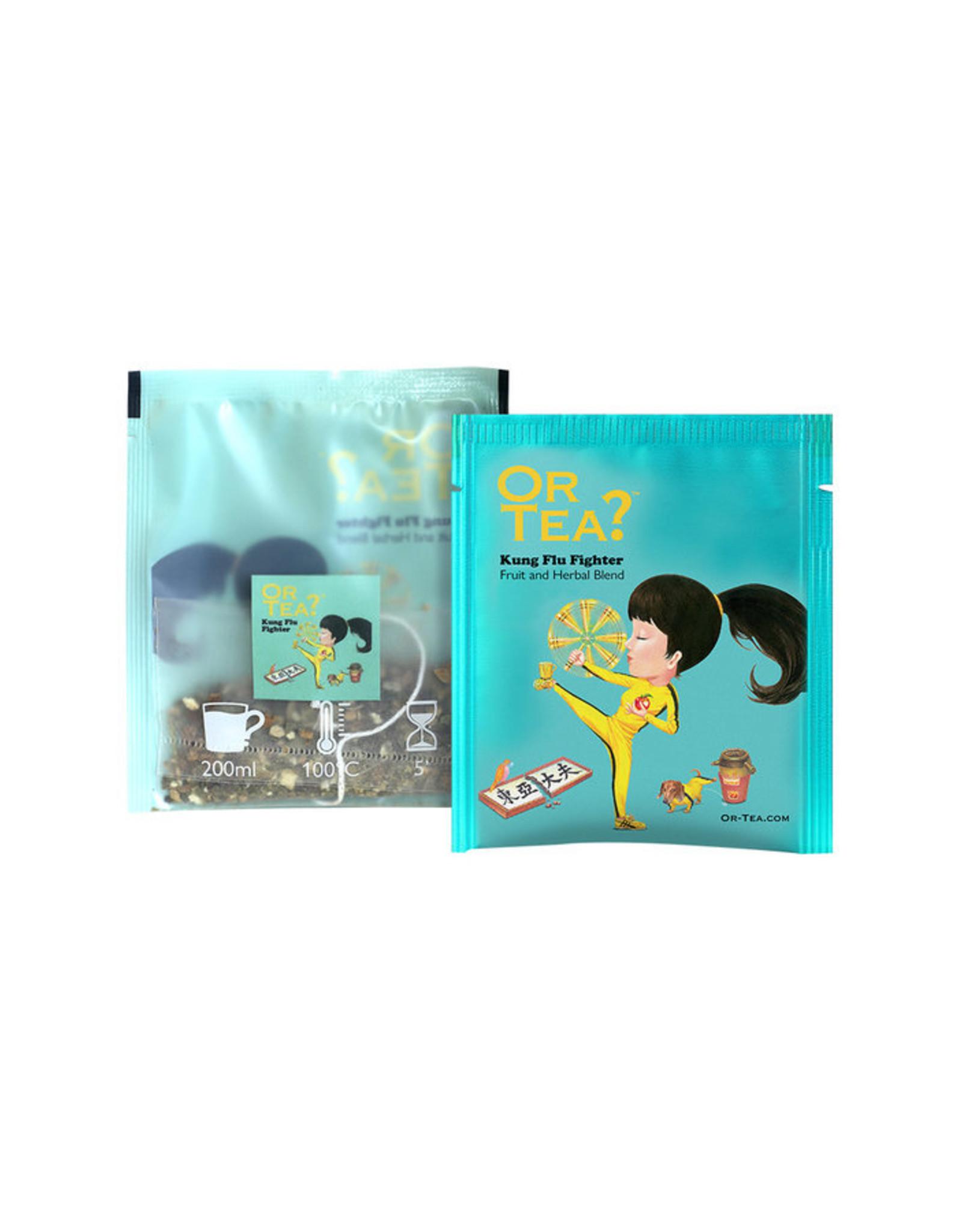 Or Tea? Organic Kung Flu Fighter - 10-Sachet Box (Pillow)