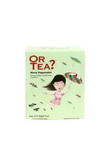 Or Tea? Organic Merry Peppermint - 10-Sachet Box (Pillow)