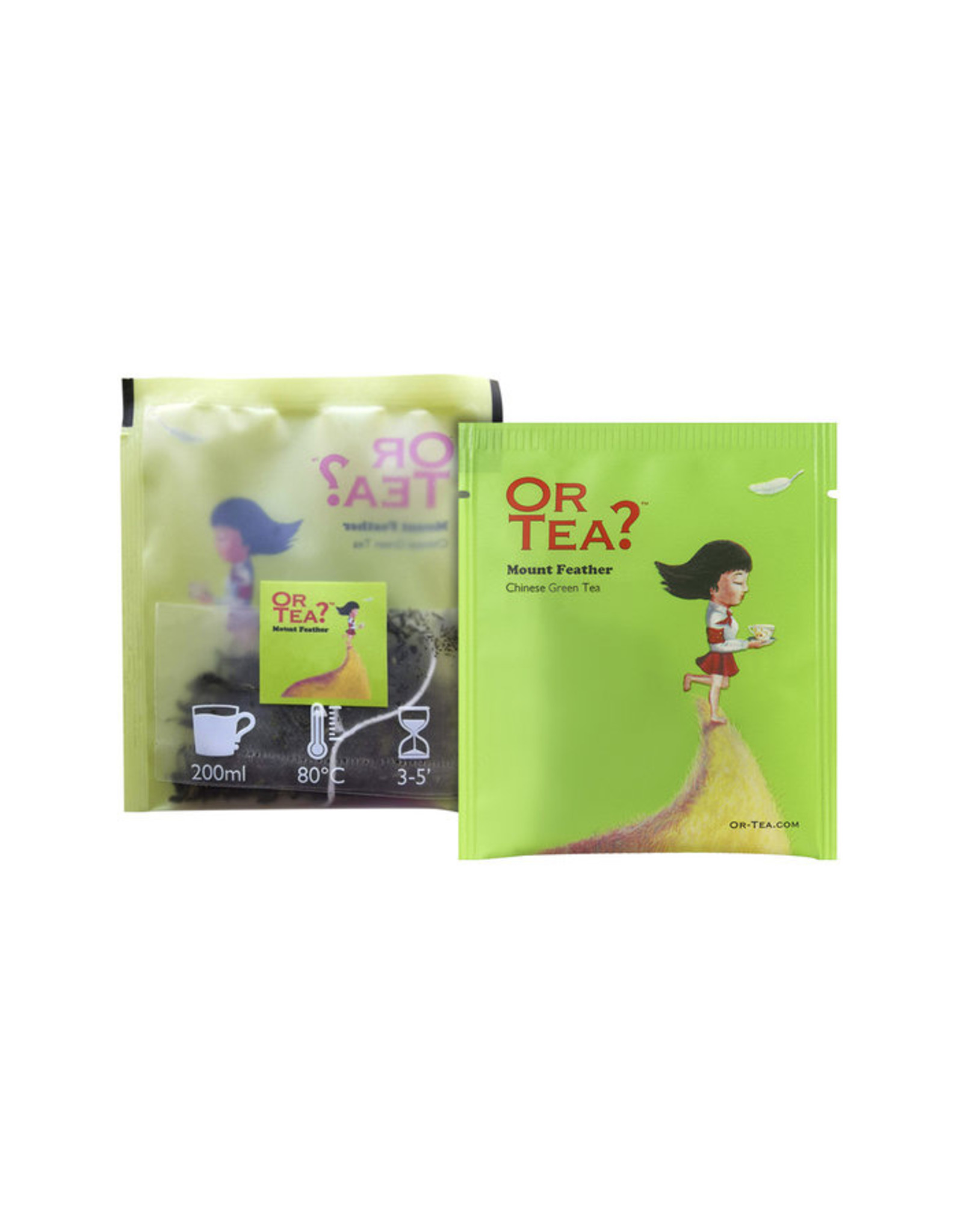 Or Tea? Organic Mount Feather - 10-Sachet Box (Pillow)