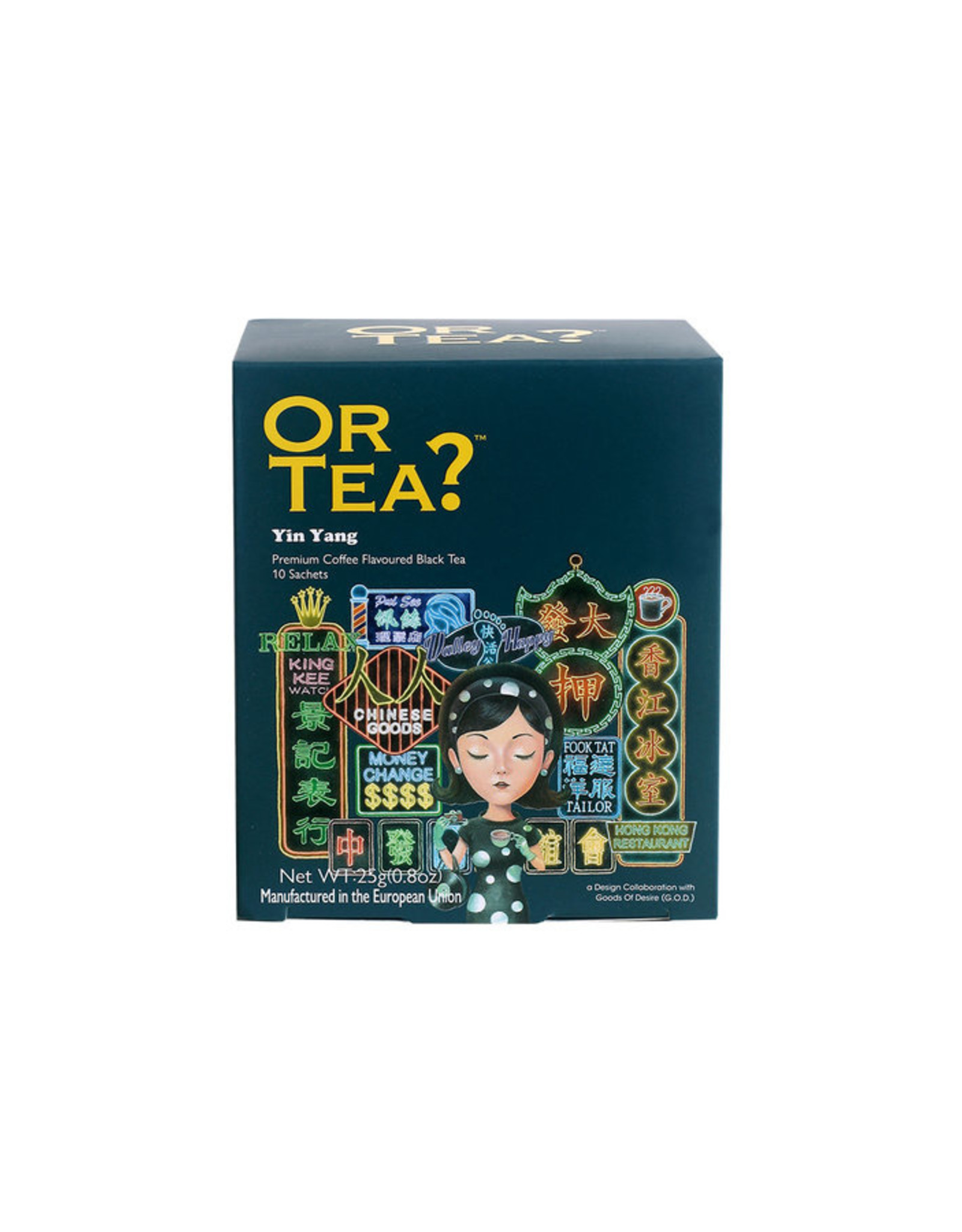 Or Tea? Yin Yang - 10-Sachet Box (Pillow)