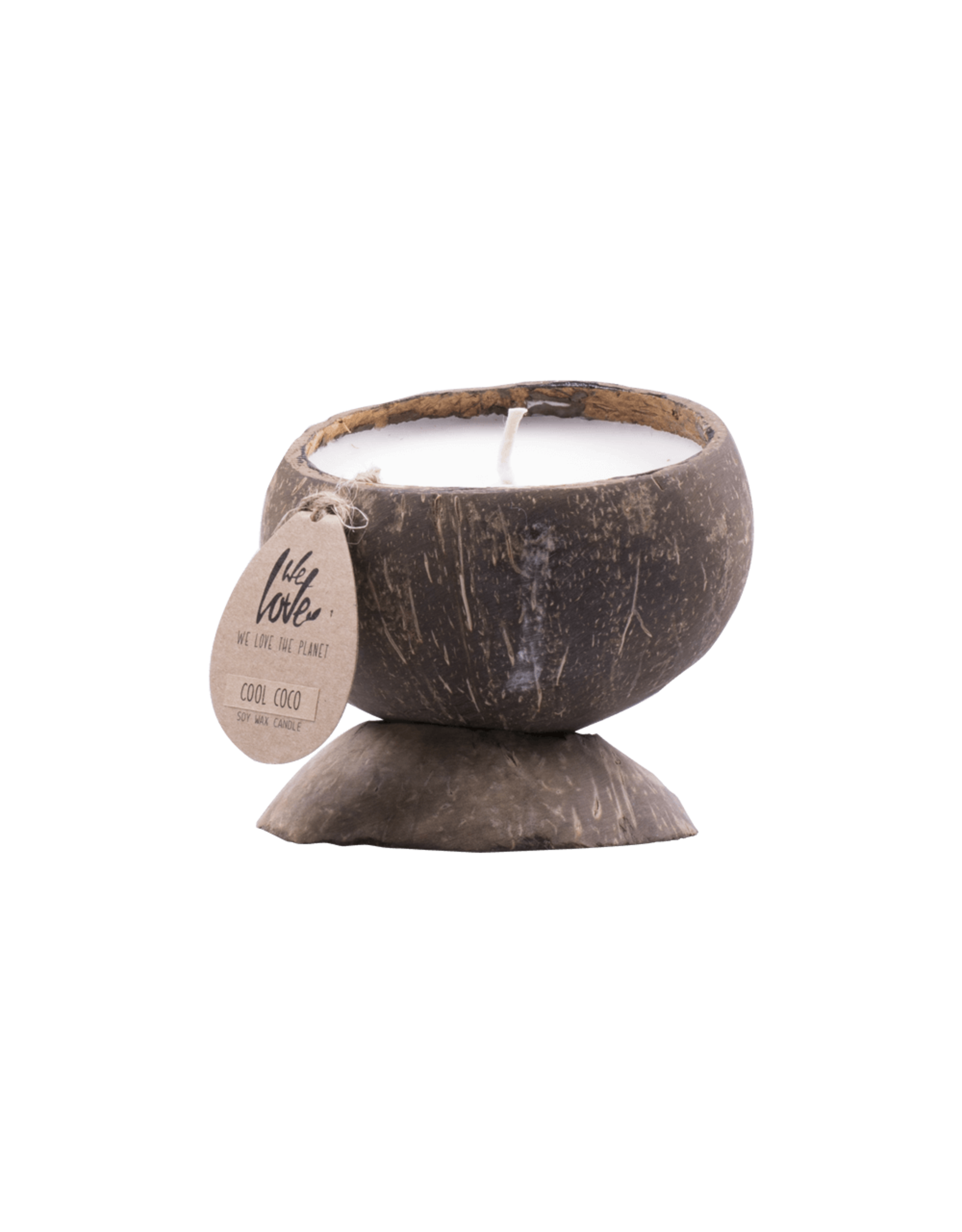We Love the Planet Coconut soy wax candle Cool Coco
