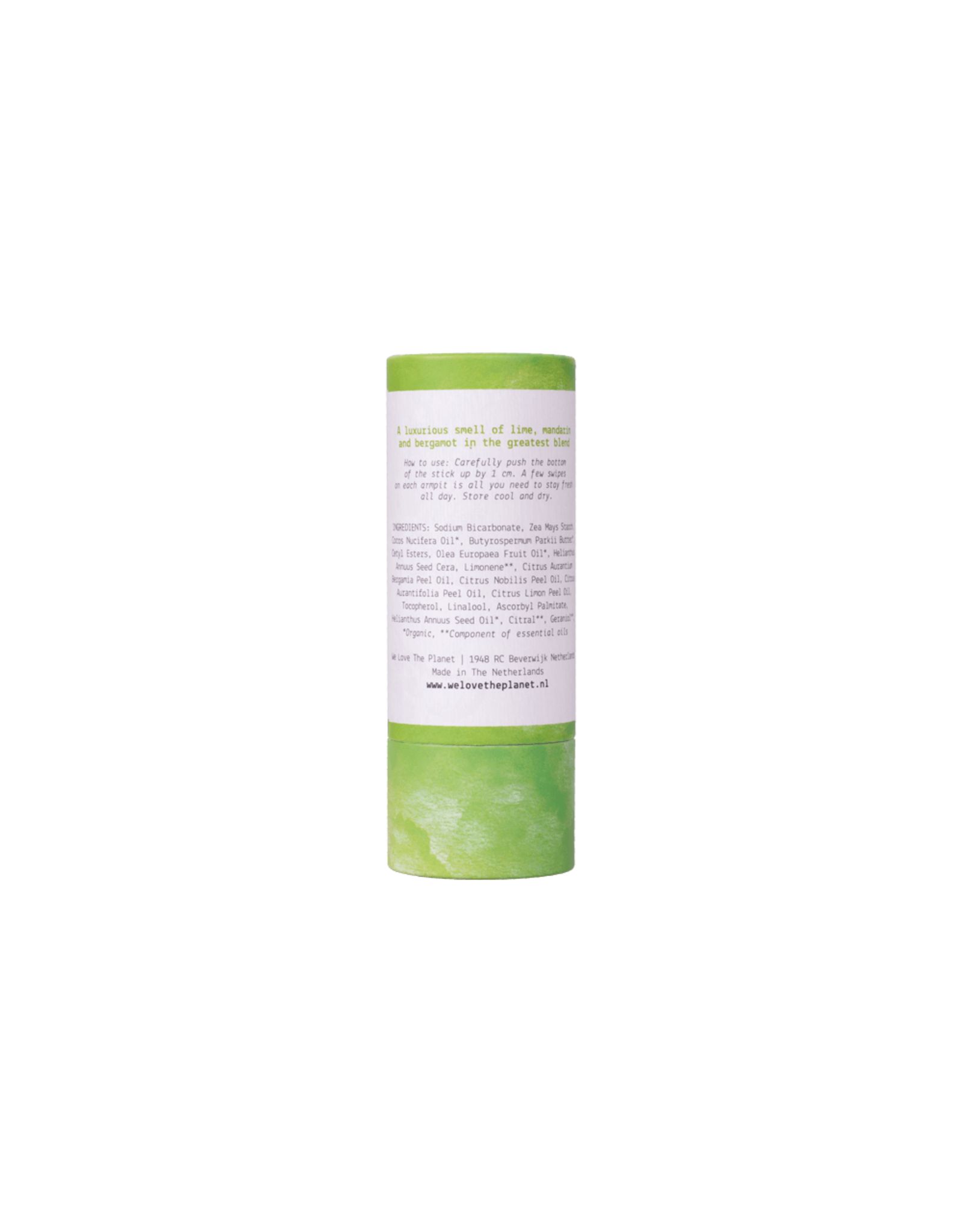 We Love the Planet Deodorant Stick - luscious Lime 48g