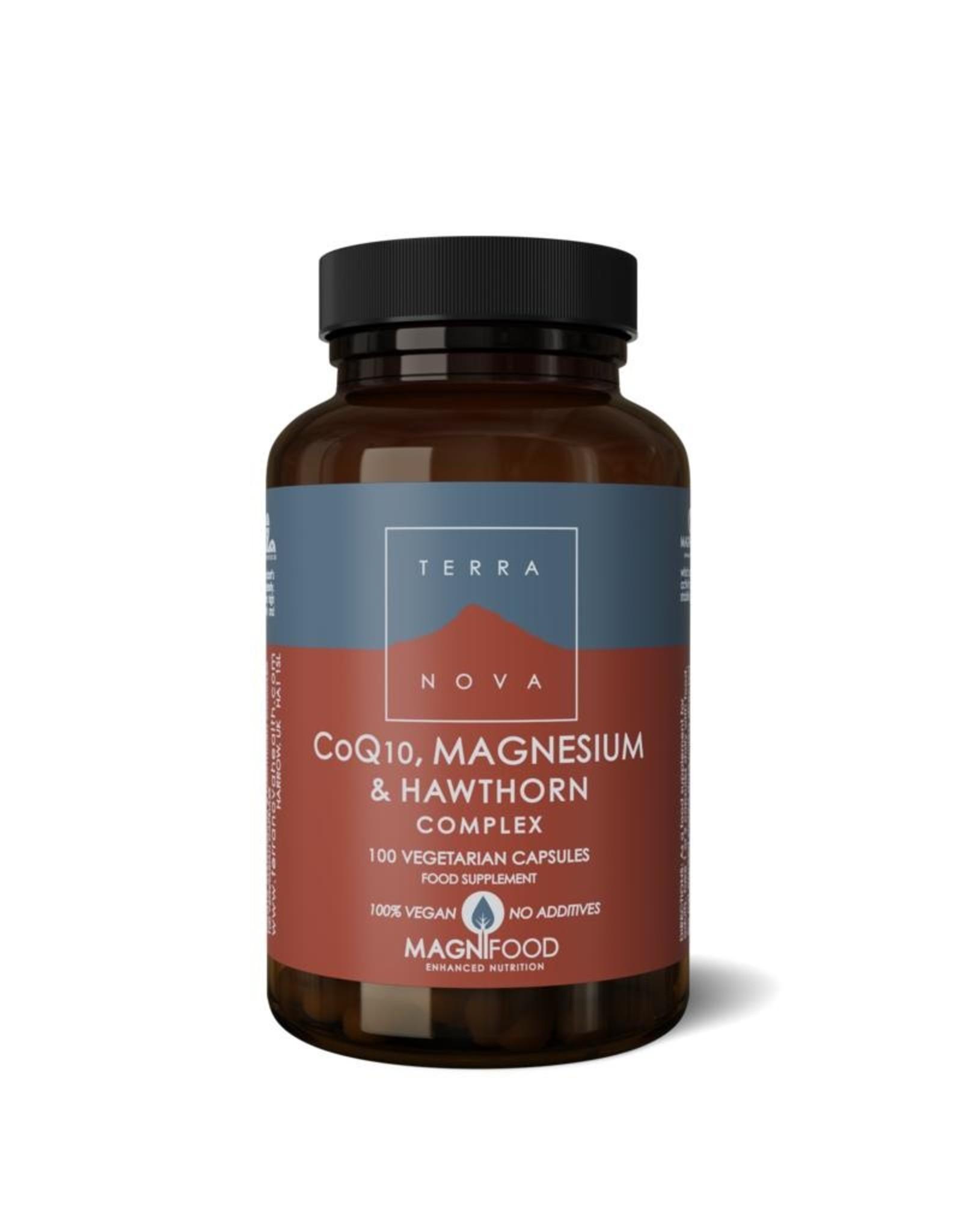 Terranova CoQ10, Magnesium & Hawthorn Complex | 50 / 100 Caps