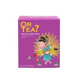 Or Tea? Organic The Secret Life of Chai - 10 Sachet Box