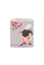 Or Tea? La Vie en Rose - Zwarte thee met roos  - 10-Sachet Box (Pillow)