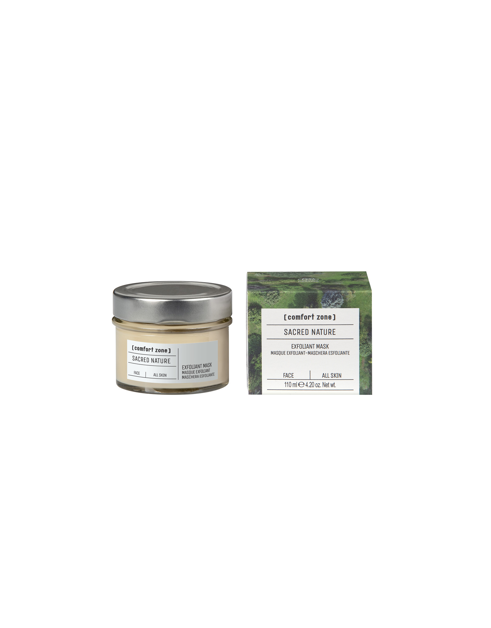 [Comfort Zone] Sacred Nature Exfoliant Mask Pot 110 ml