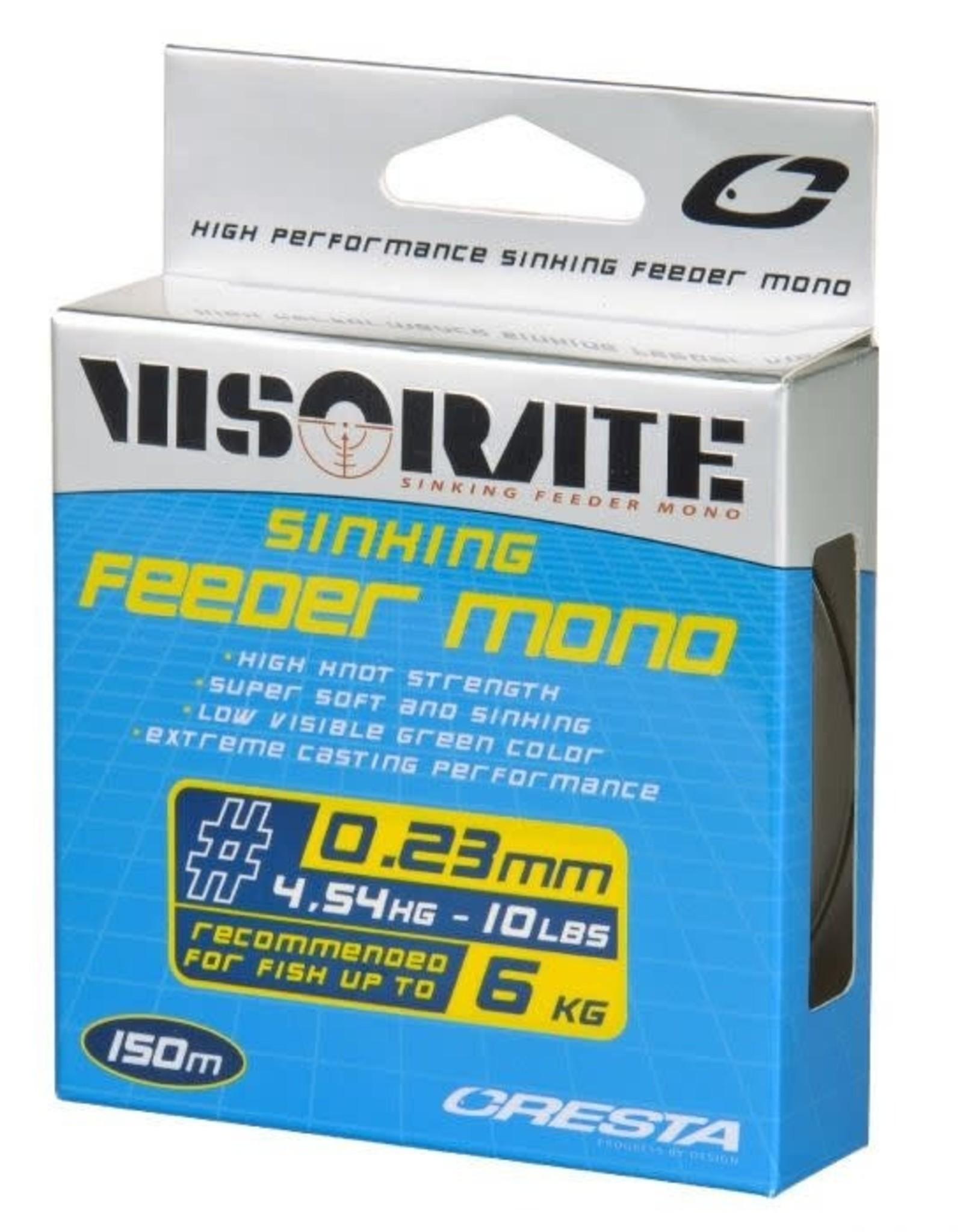 CRESTA VISORATE FEEDER MONO 0.23MM 150M