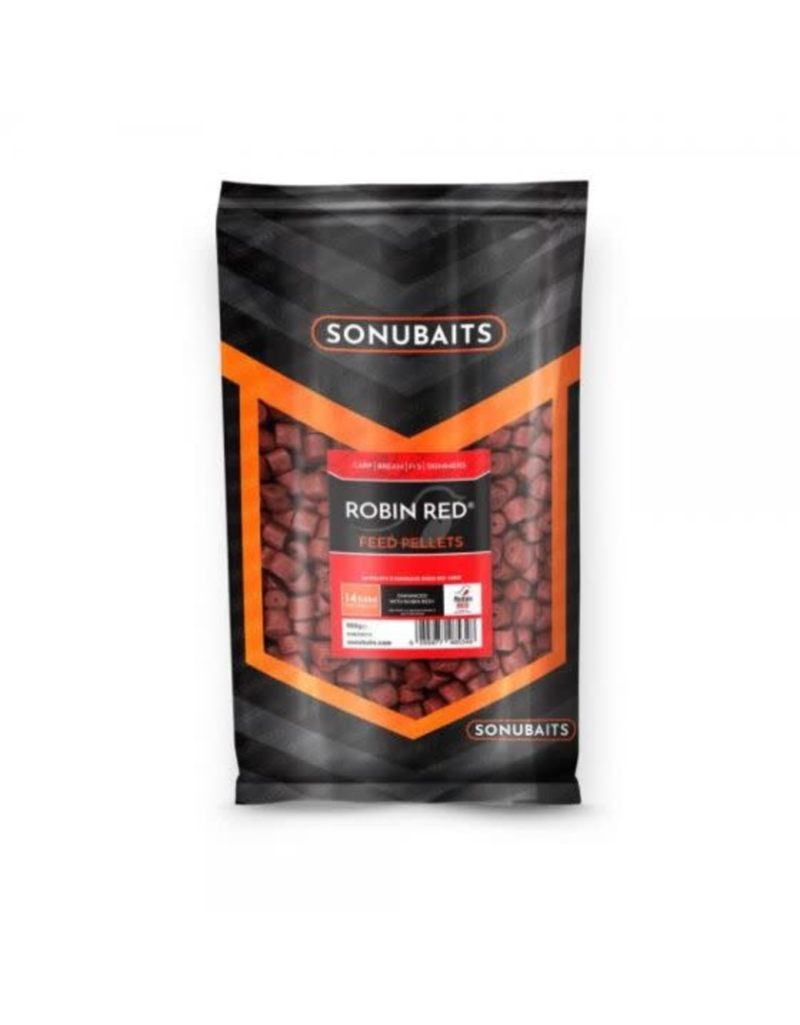 SONUBAITS Robin Red Feed (Drilled) 14mm