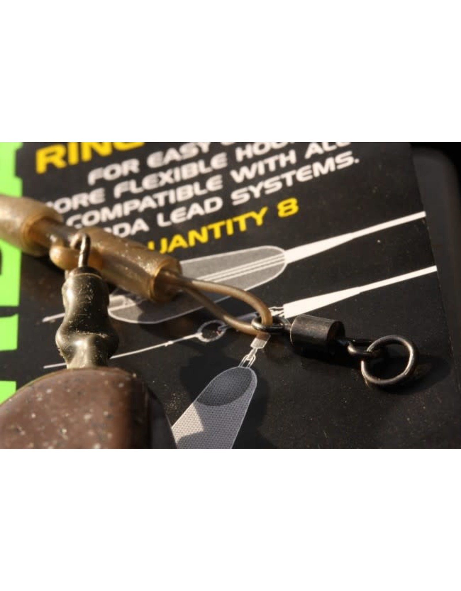 KORDA Ring Swivels Size 8 - 8 pcs