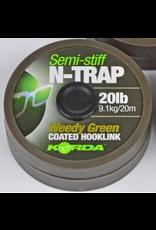 KORDA N-Trap Semi Stiff 20lb Weedy Green