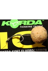 KORDA IQ Extra Soft Fluorocarbon Hooklink 15lb 0.40mm
