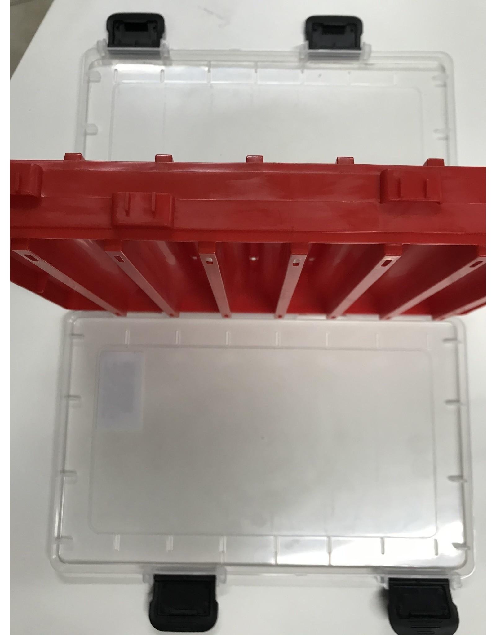 ARCA ARCA RED BOX - PILKER 27 x 17 cm / 14 vaks