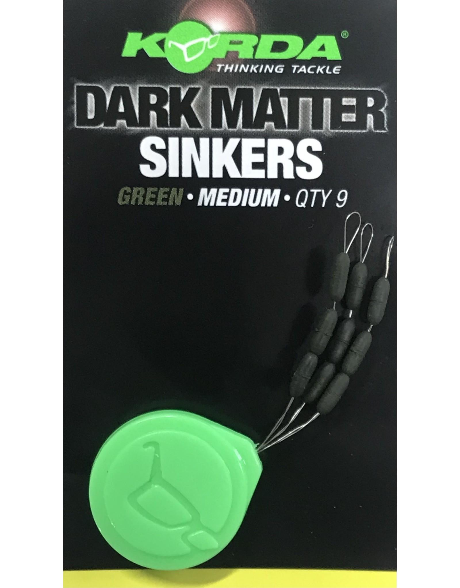 KORDA Sinkers weedy green