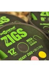KORDA Ready Zigs 12' (360cm) size 10