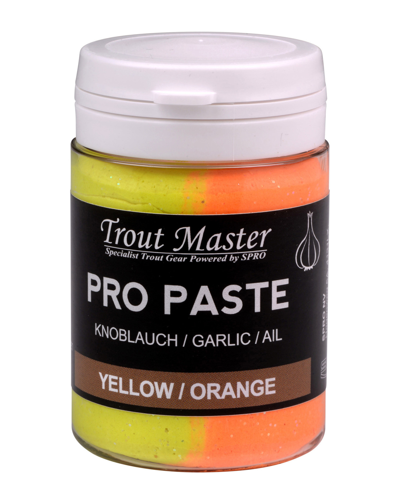 TROUT MASTER PRO PASTE YELLOW / ORANGE