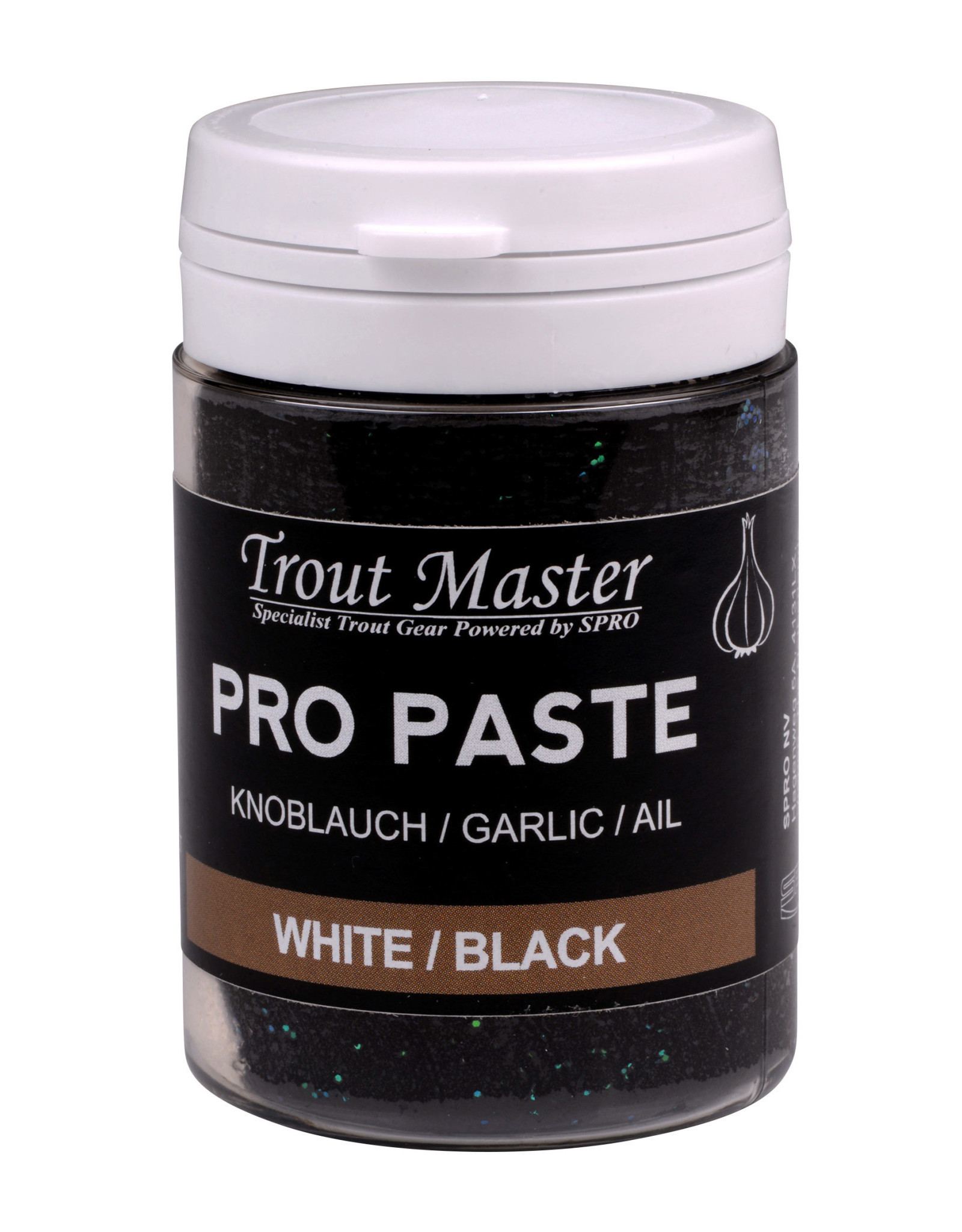 TROUT MASTER PRO PASTE WHITE / BLACK