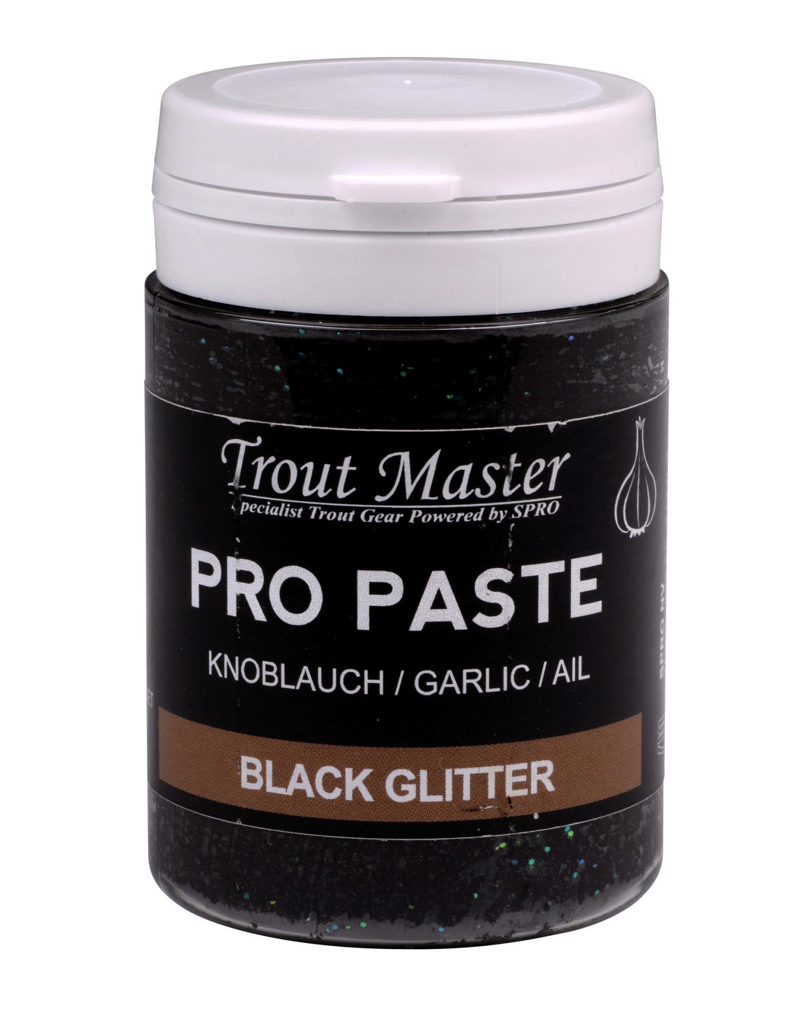 TROUT MASTER PRO PASTE BLACK GLITTER