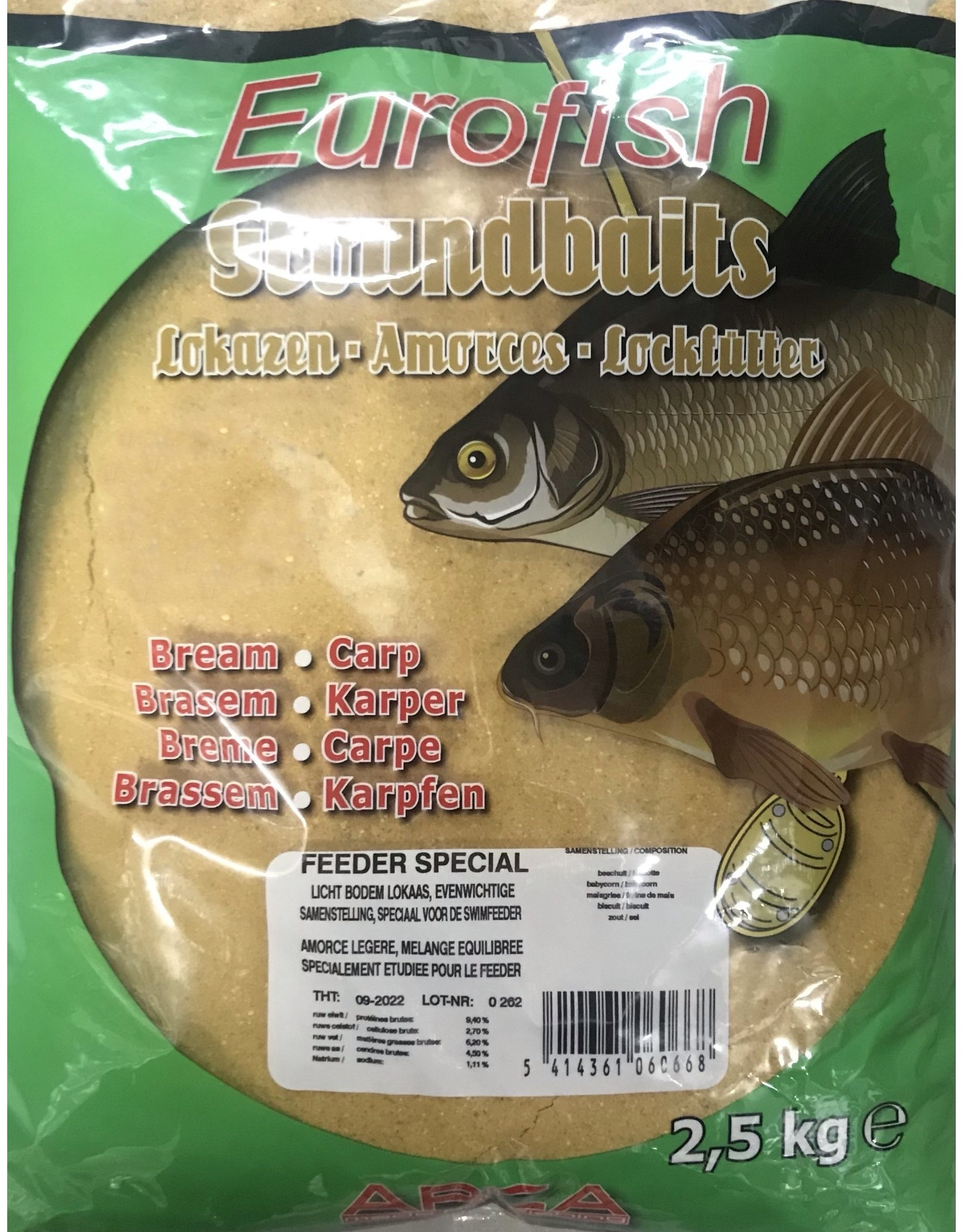 EUROFISH SPECIAL FEEDER 2,5 KG