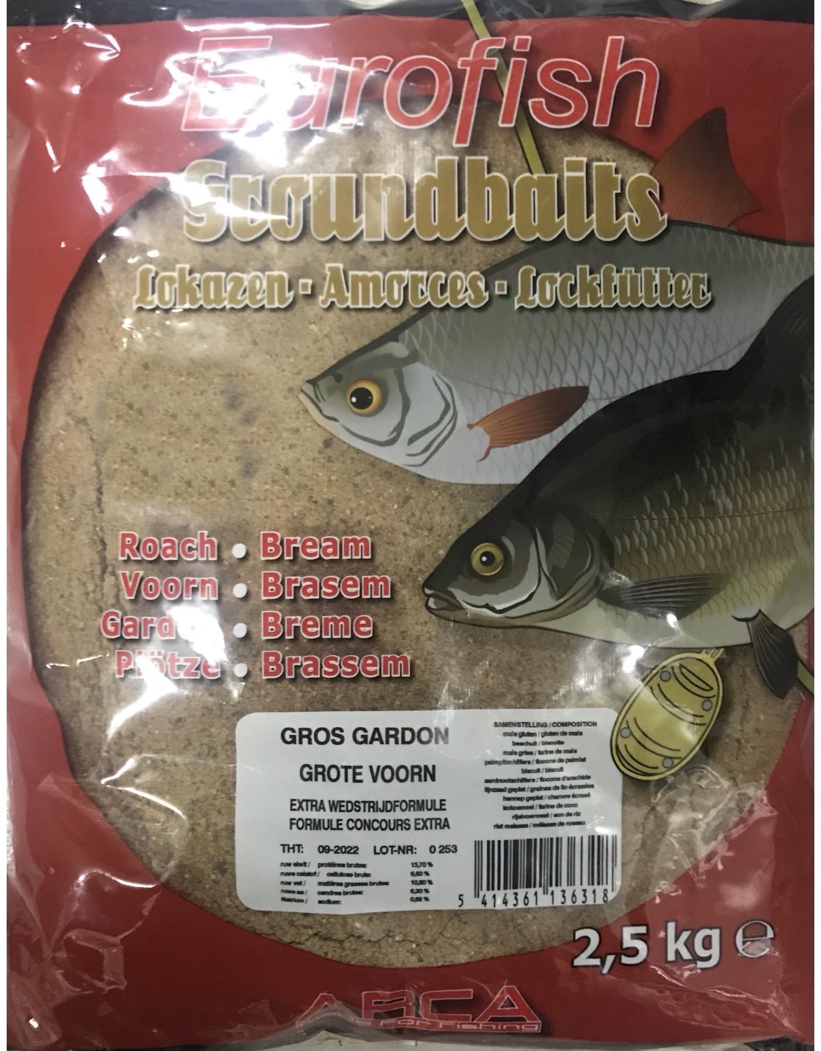 EUROFISH GROS GARDON 2,5 KG