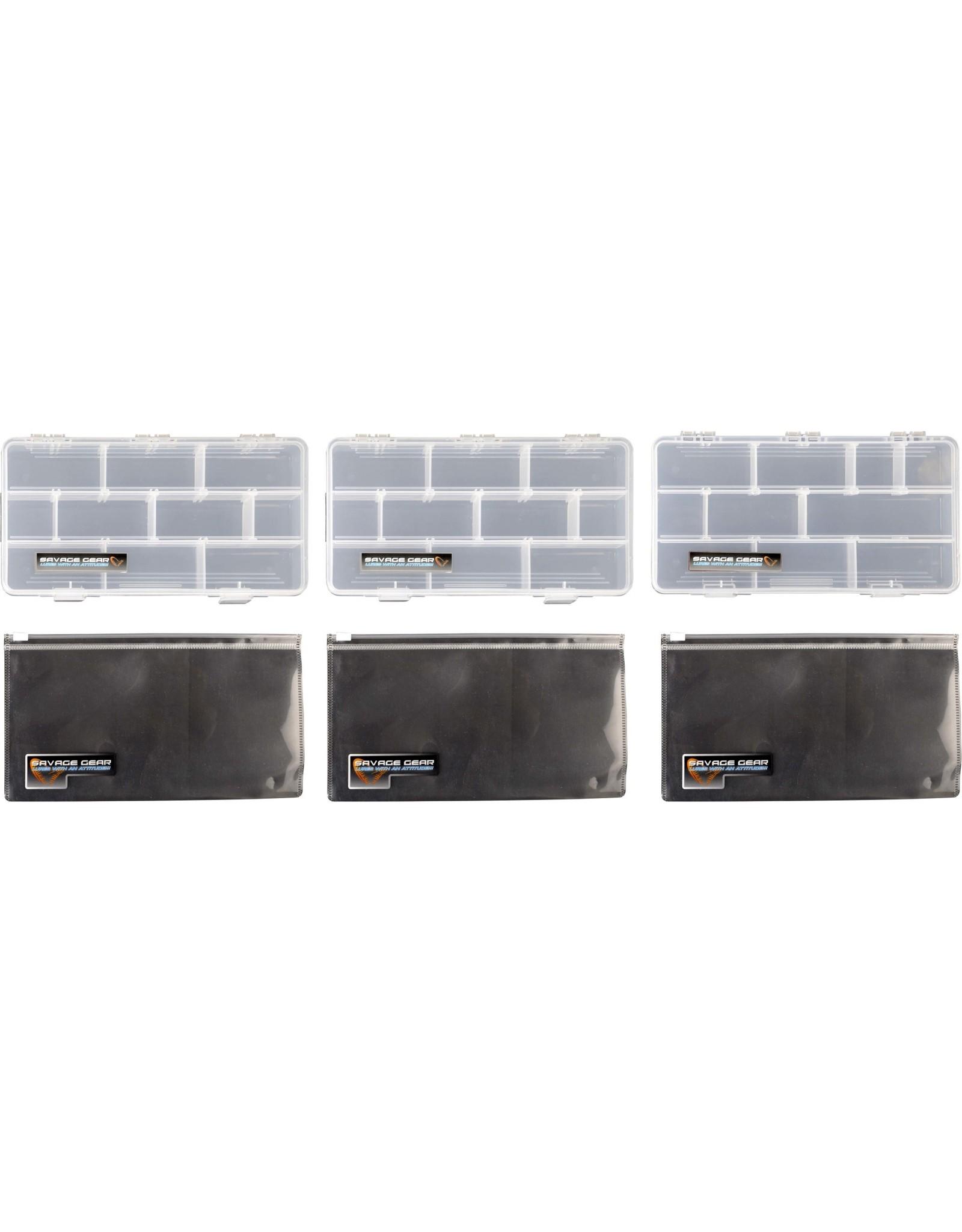SAVAGE GEAR SYSTEM BOX BAG & PP BAGS BAG 3 BOXES S 5.5L 15X36X23CM