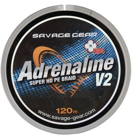 SAVAGE GEAR HD4 ADRENALINE V2 120M GREY