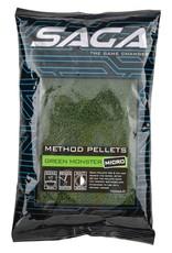 SAGA METHOD PELLETS GREEN MONSTER MICRO 2MM 700G