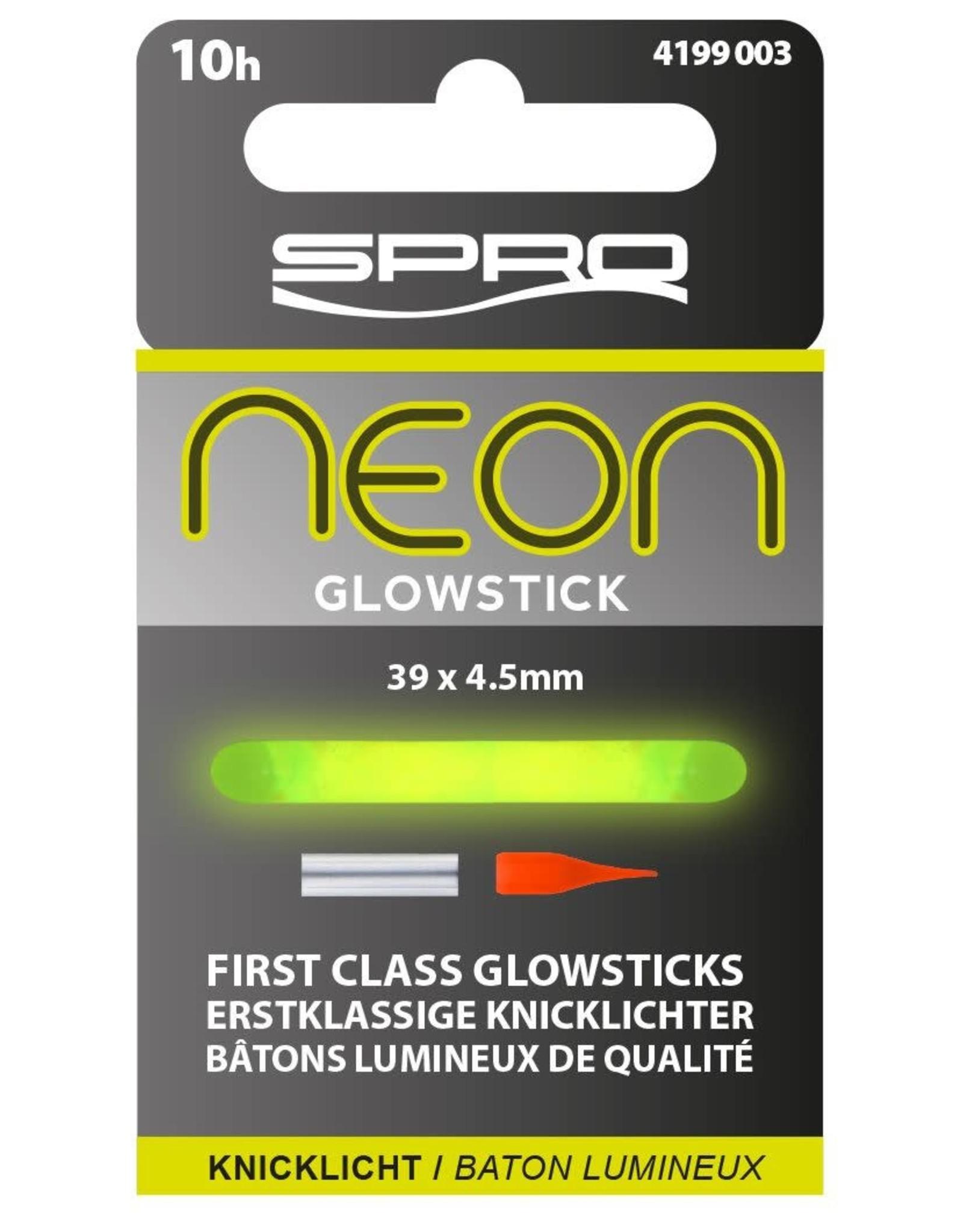 SPRO NEON GLOWSTICK GREEN 39X4.5MM