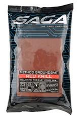SAGA METHOD GROUNDBAIT RED KRILL 900G