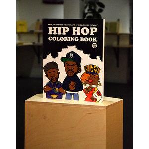 Hip Hop colouring book