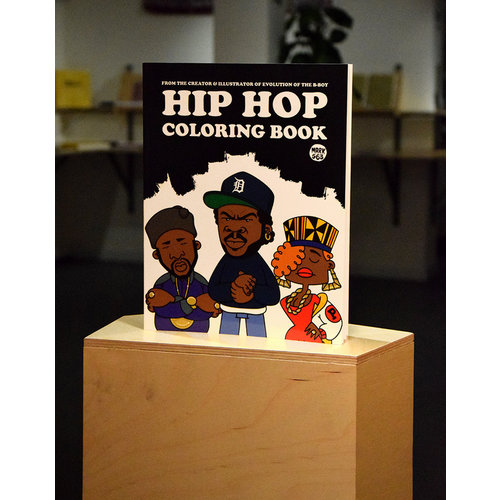 Dokument Press Hip Hop colouring book