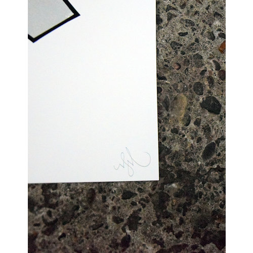 Shoe Shoe - The Difference (2020, graffiti edition) 50x70, Screen print, 300gr paper, signed edition of 75