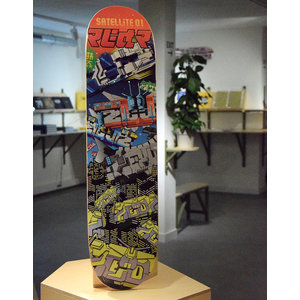 Zedz Satellite 01 Skatedeck