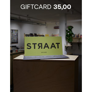 Giftcard STRAAT Museum  + Shoe is my middle name book deal 35.00