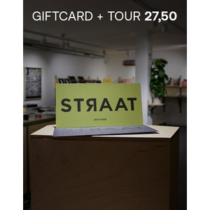 Giftcard STRAAT Museum  + Tour 27.50
