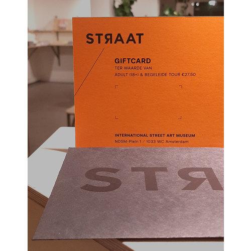 Straat Museum Giftcard STRAAT Museum + Tour 27.50