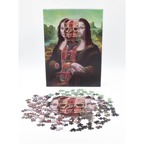 Nychos Nychos - Dissection of Mona Lisa, 1000 piece jigsaw puzzle