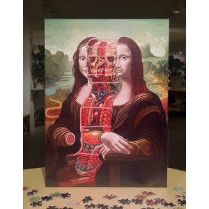 Nychos -Dissection of Mona Lisa Jigsaw puzzle