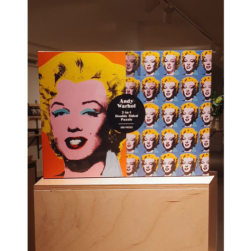 Abrams&Chronicle Warhol marilyn 500 piece double sided puzzle