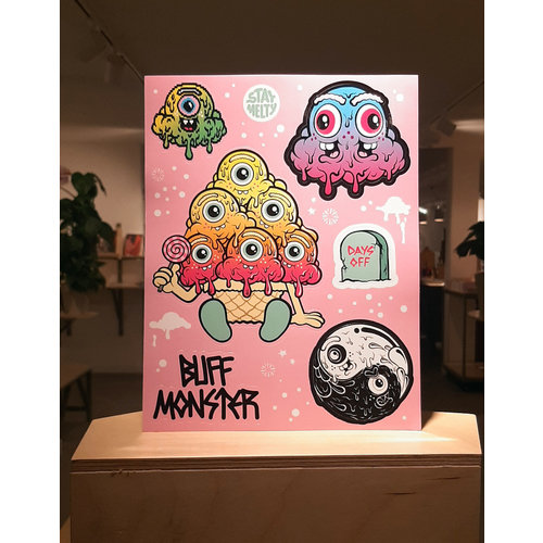 Buffmonster Buffmonster Sticker Sheet