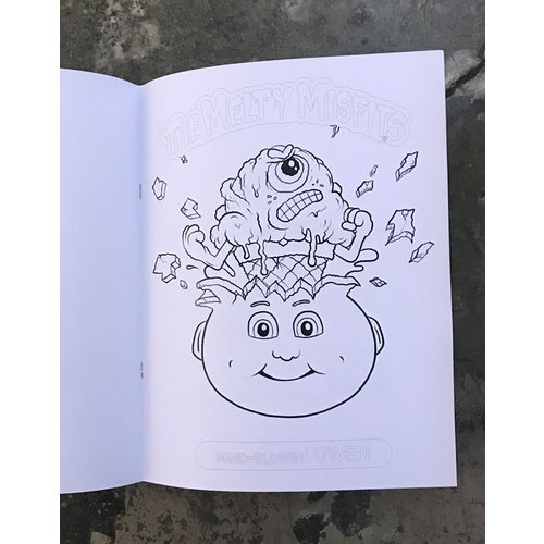 Buffmonster Buffmonster: The Melty Misfits. Coloring Book