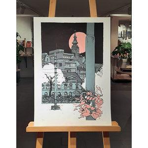 Morcky print #033