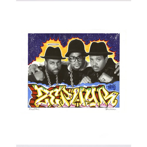 Hat & Beard The Mash Up: Hip-Hop Photos Remixed by Iconic Graffiti Artists