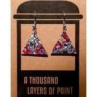 Koema Earrings dangle triangle