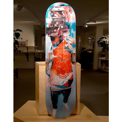 Straat Museum Joram Roukes - Skatedeck Dummy