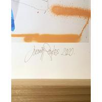 Joram Roukes - Osprey hand finished print