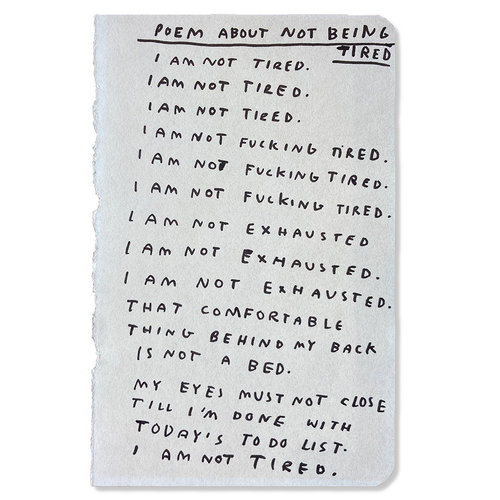 The Jaunt Wasted Rita - Poem About Not Being Tired