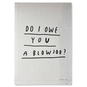 Wasted Rita - Do I Owe You A Blowjob?