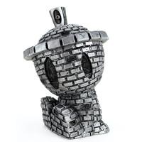 Clutter Toys Gun metal Brick canbot