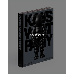 KAWS*WHAT PARTY (Black ed.) (SOLD OUT)